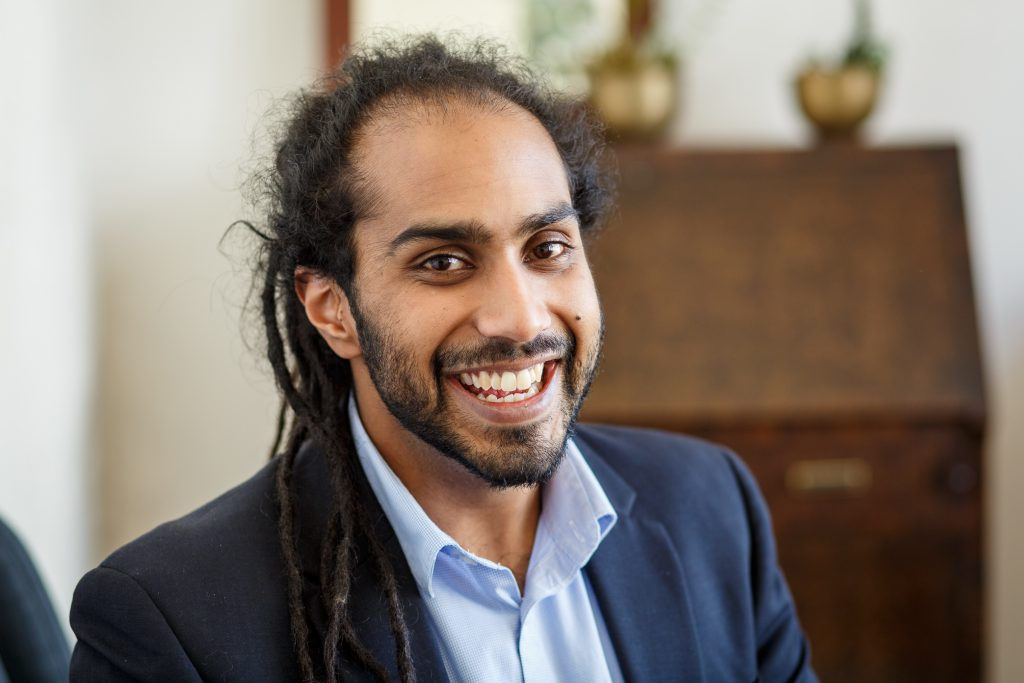 Perth Counsellor Richie Perera